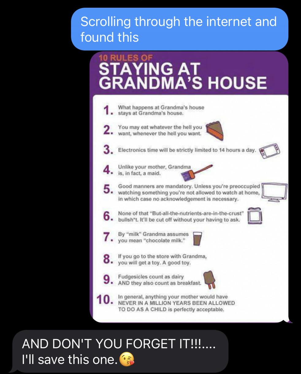 This is actually me and my grandma who I call gigi - meme