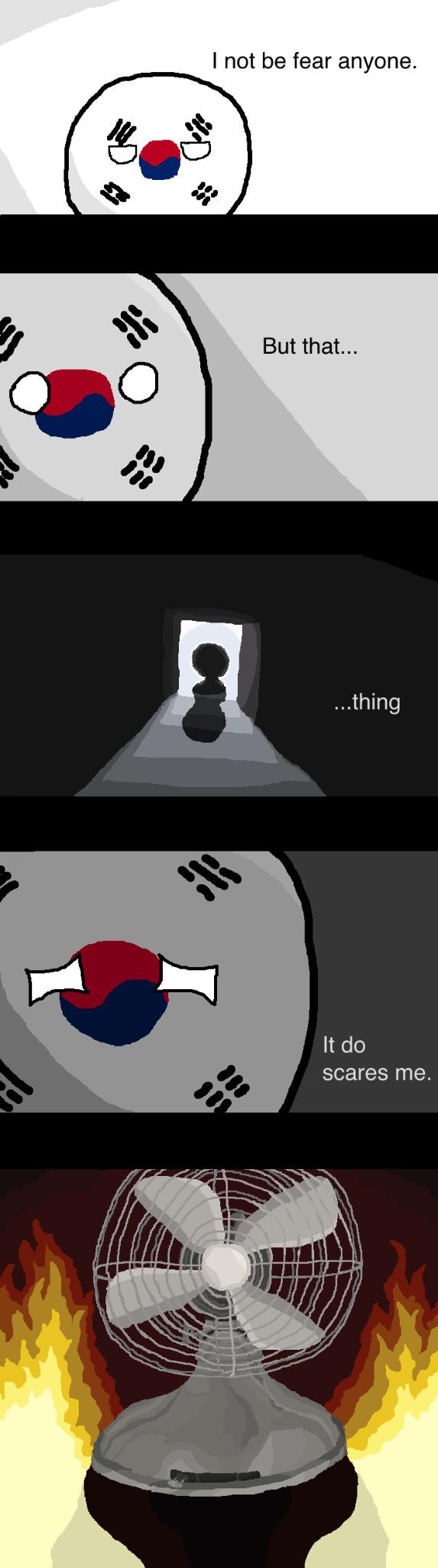 Fear the fan - meme