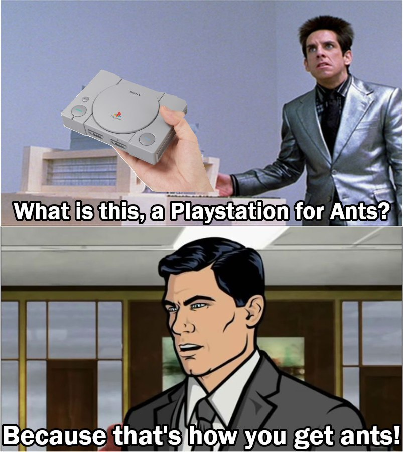Playstation Classic is 40% smaller. Is this a crossover meme?