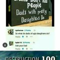 Guns don't kill people. Dads with pretty daughters do