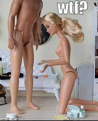 Barbie ne pourra jamais procréer :/ - meme