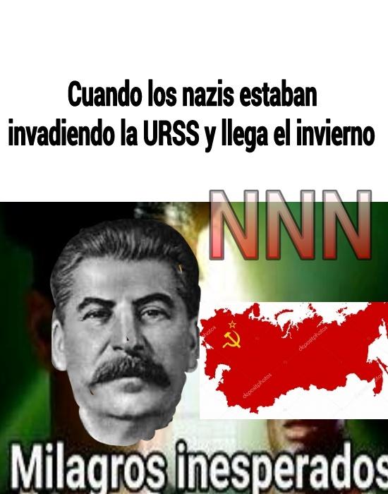 Invierno Ruso - meme