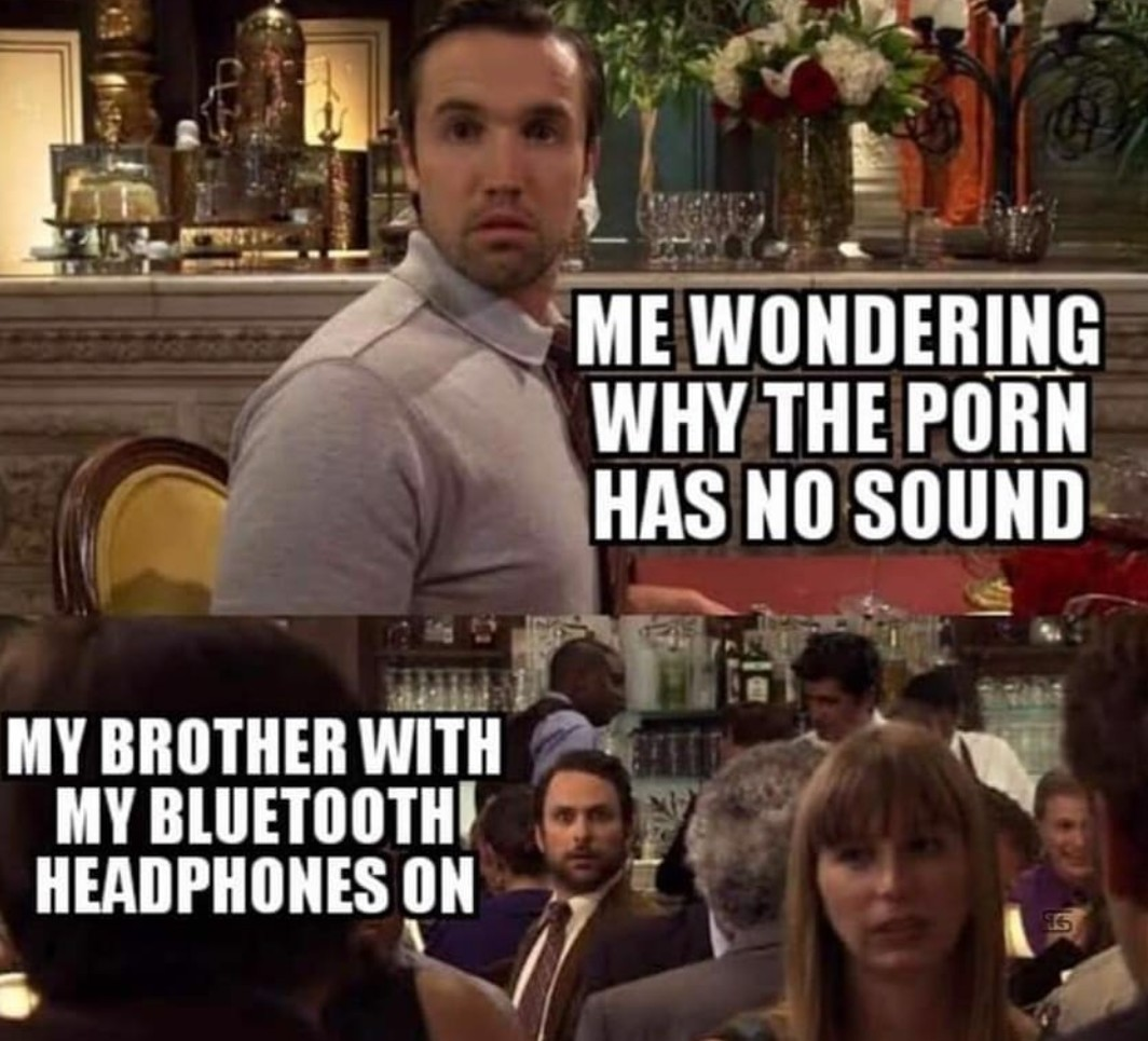 Bluetooth blues - meme