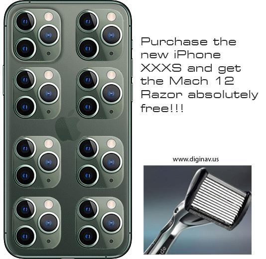 iPhone XXXS - meme