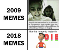 then and now - meme