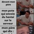 pour ceux qui se disent «mais tien j'ai déjà vu ce meme sur le mmd anglais» c'est juste moi qui traduit mon propre meme mais en français