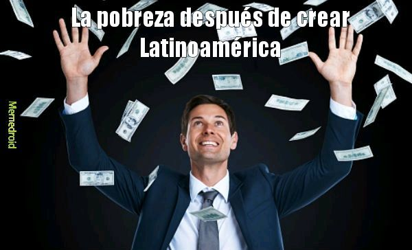 El título escapó de Latinoamérica xD - meme