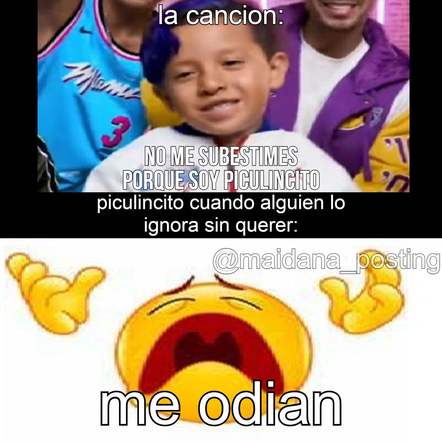 me odian D: - meme