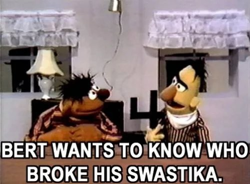 Poor Bert - meme