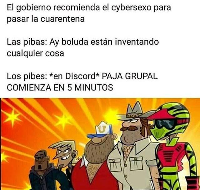 Paja Grupal de Legendas - meme