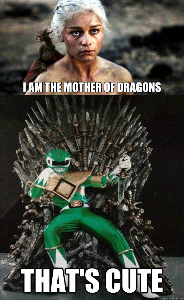 Green Ranger was Dope - meme