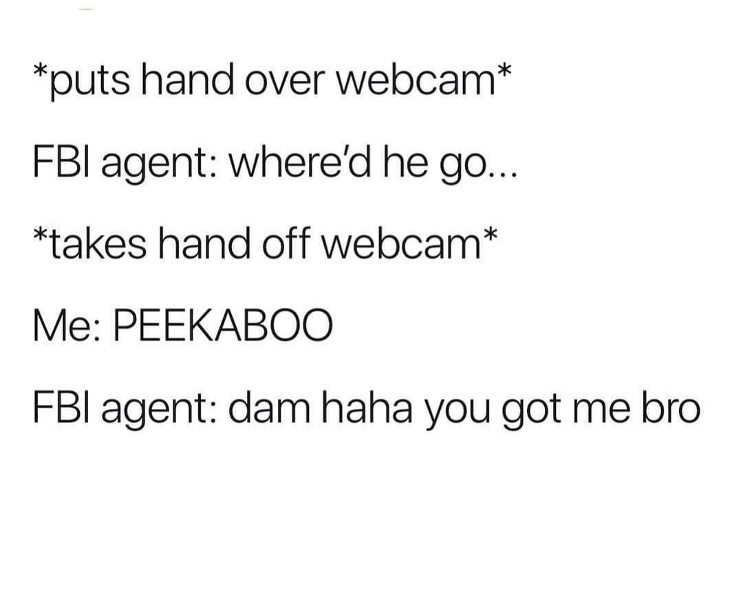 Fbi is your bae whether you like it or not - meme
