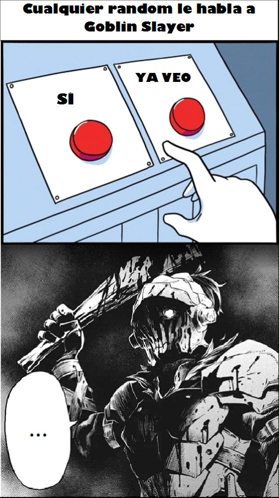 los memes de goblin slayer están muertos
