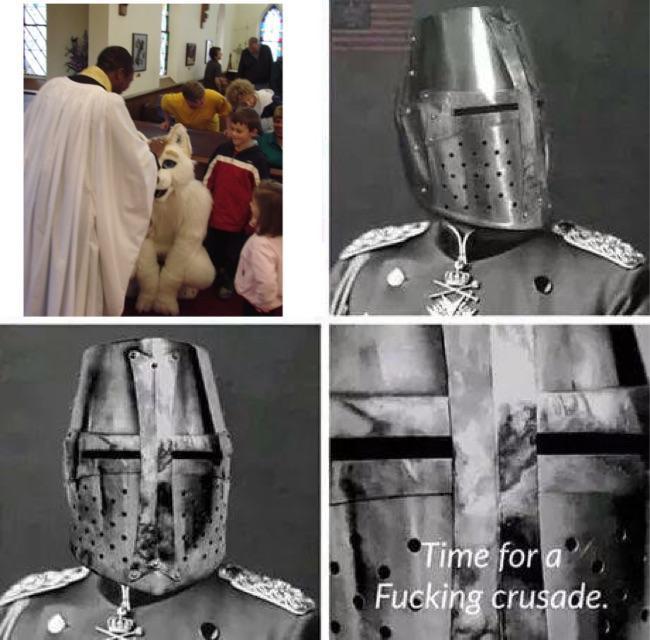 Need more people to help us Deus Vult - meme