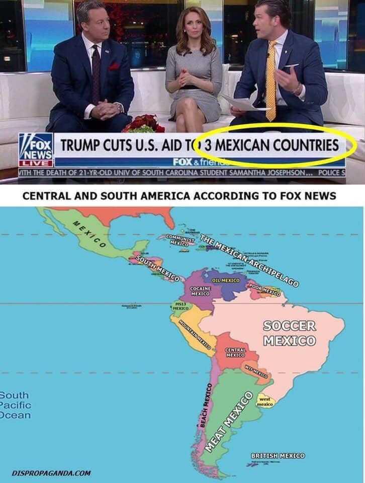 México do Sul - meme