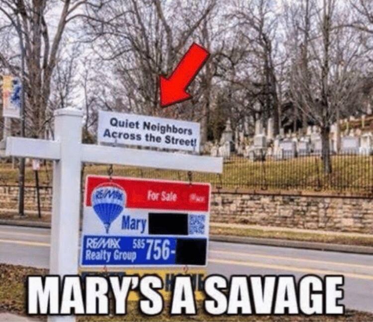 savage mary - meme
