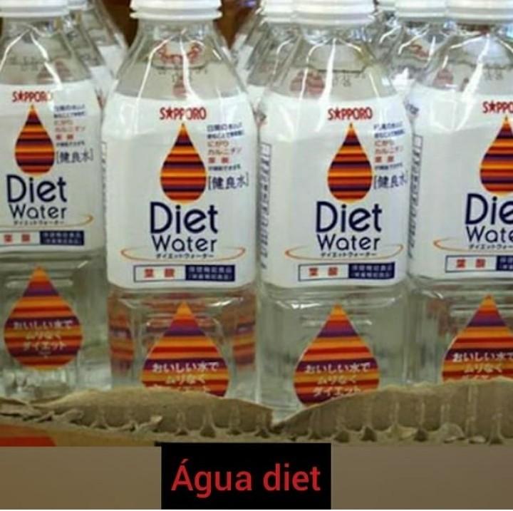 água diet hmmmm - meme