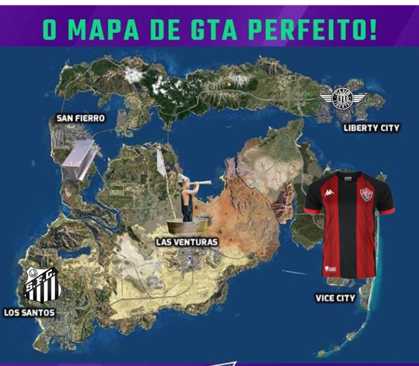 Mapa perfeito! - meme