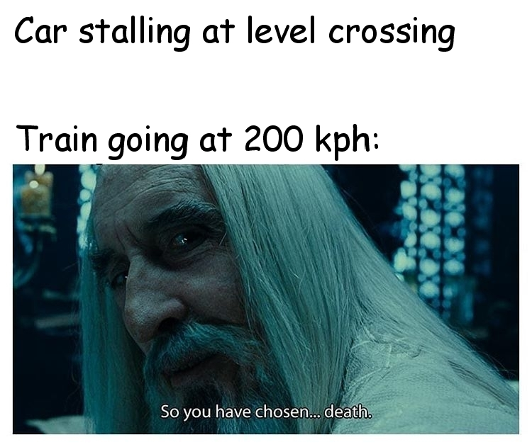 Car Train - meme