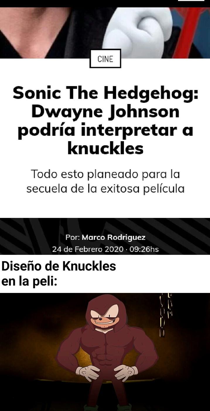 Knuckles Boom - meme