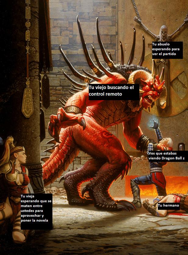 La_continuación del meme de Doom que había subido hace meses.