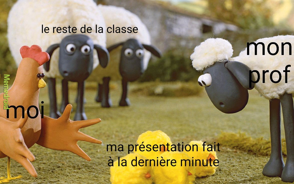 Ma présentation - meme