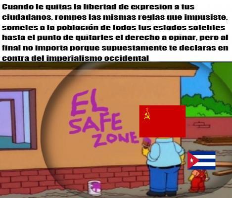 En su paises hay weones que defienden estados comunistas como la urss. la China de mao o Cuba? - meme