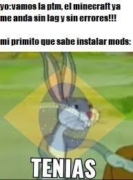 TENIAS - meme