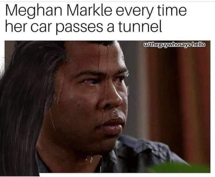 I hope the next tunel will be the one - meme