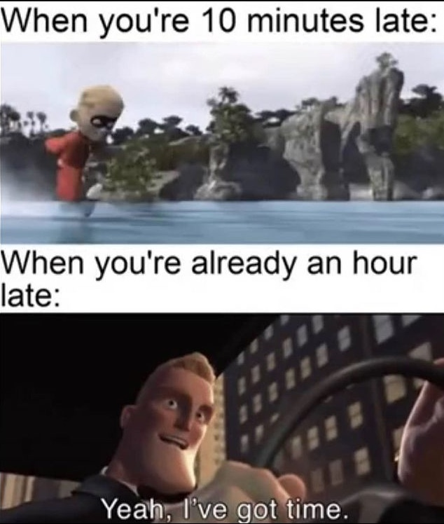 yeah I've got time - meme