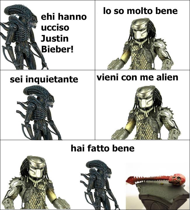 Justin Bieber ciao ciao - meme