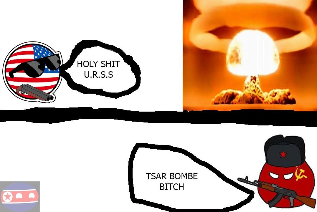 Tsar bombe urrss - meme