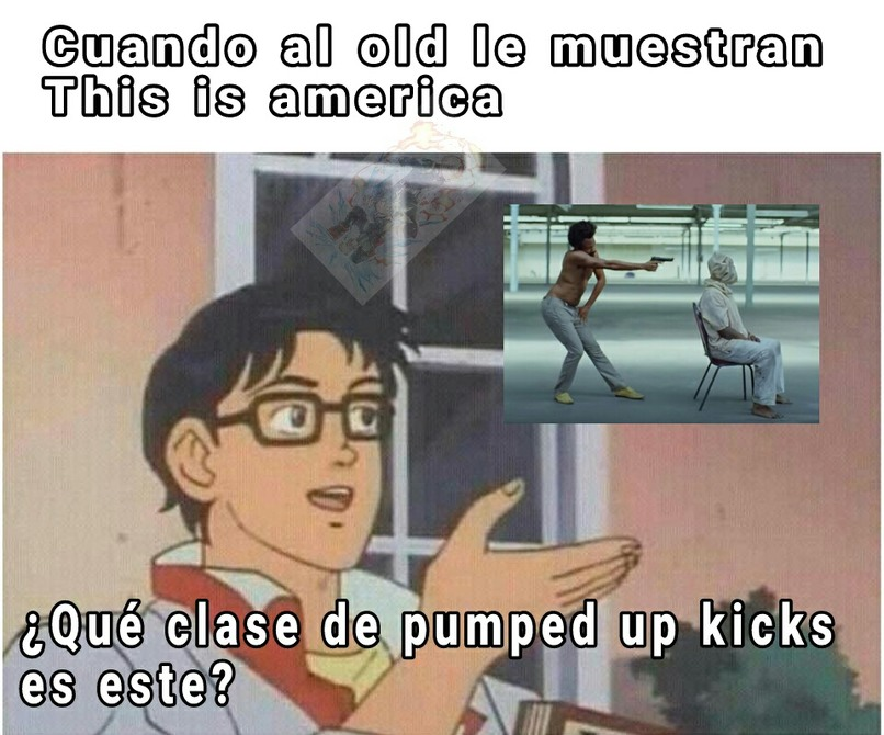 All the other kids with the pumped up kicks - meme