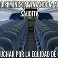 Donde estan ahora las feminazis?