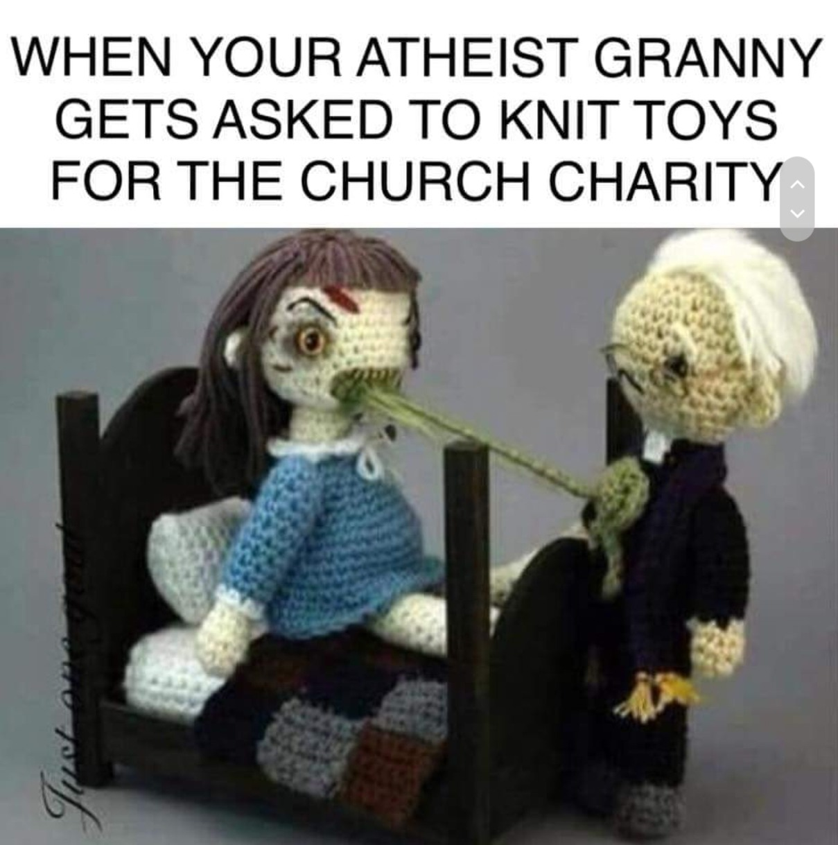 For the church charity - meme
