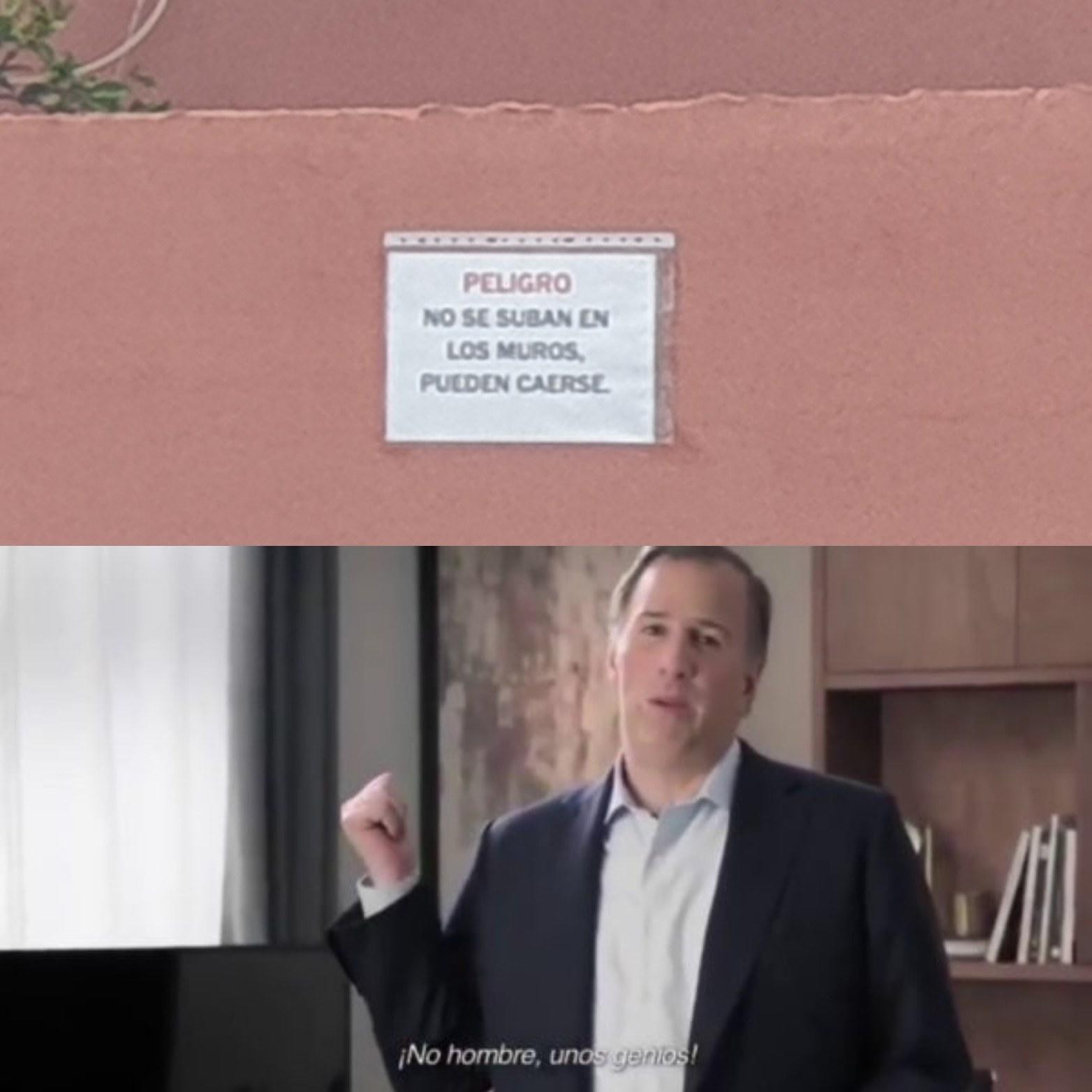 Son unos genios XD - meme