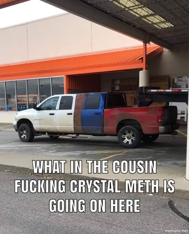 Redneck limo - meme