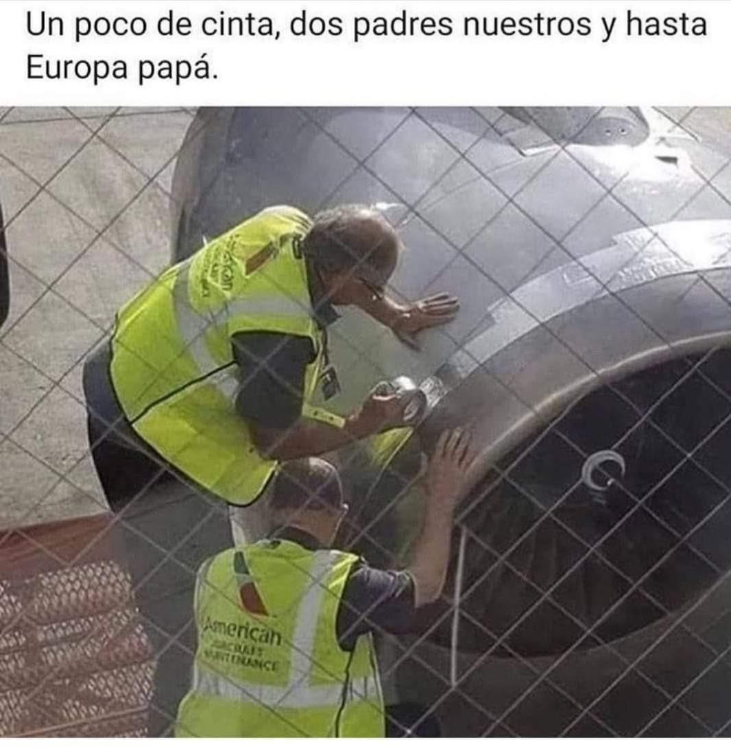 Aviones - meme