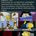 Pinches feminazis