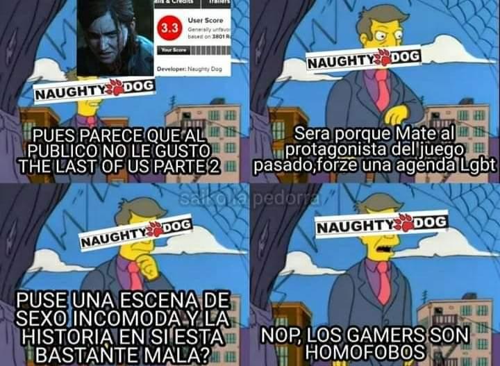 The Last Of Us 2 - meme