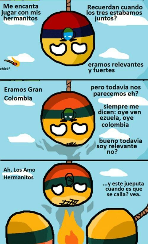 Colombia y Venezuela si gana Petro - meme