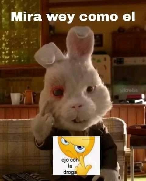 OJO CON LA DROGA - meme