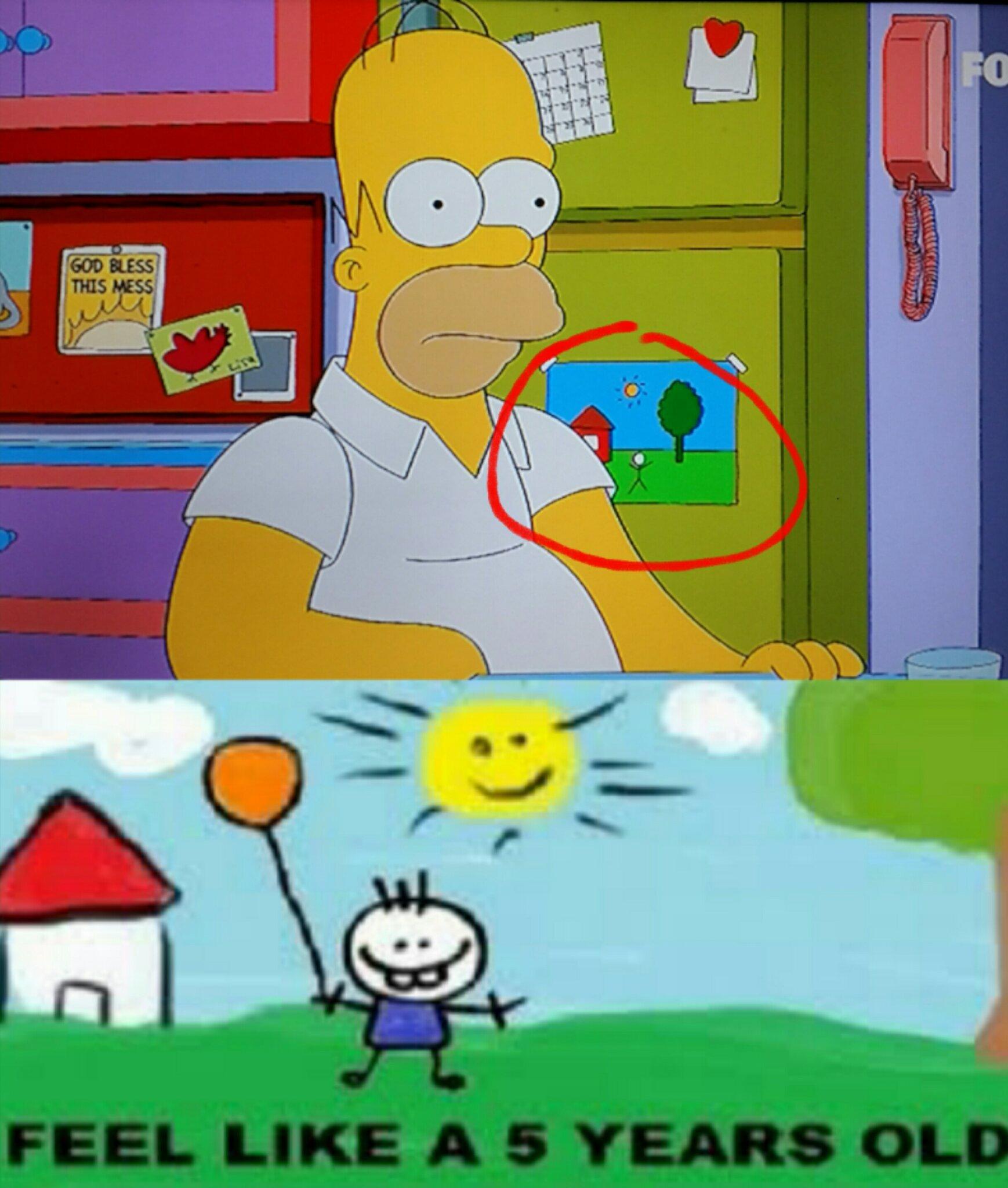 Los Simpson lo predijieron - meme