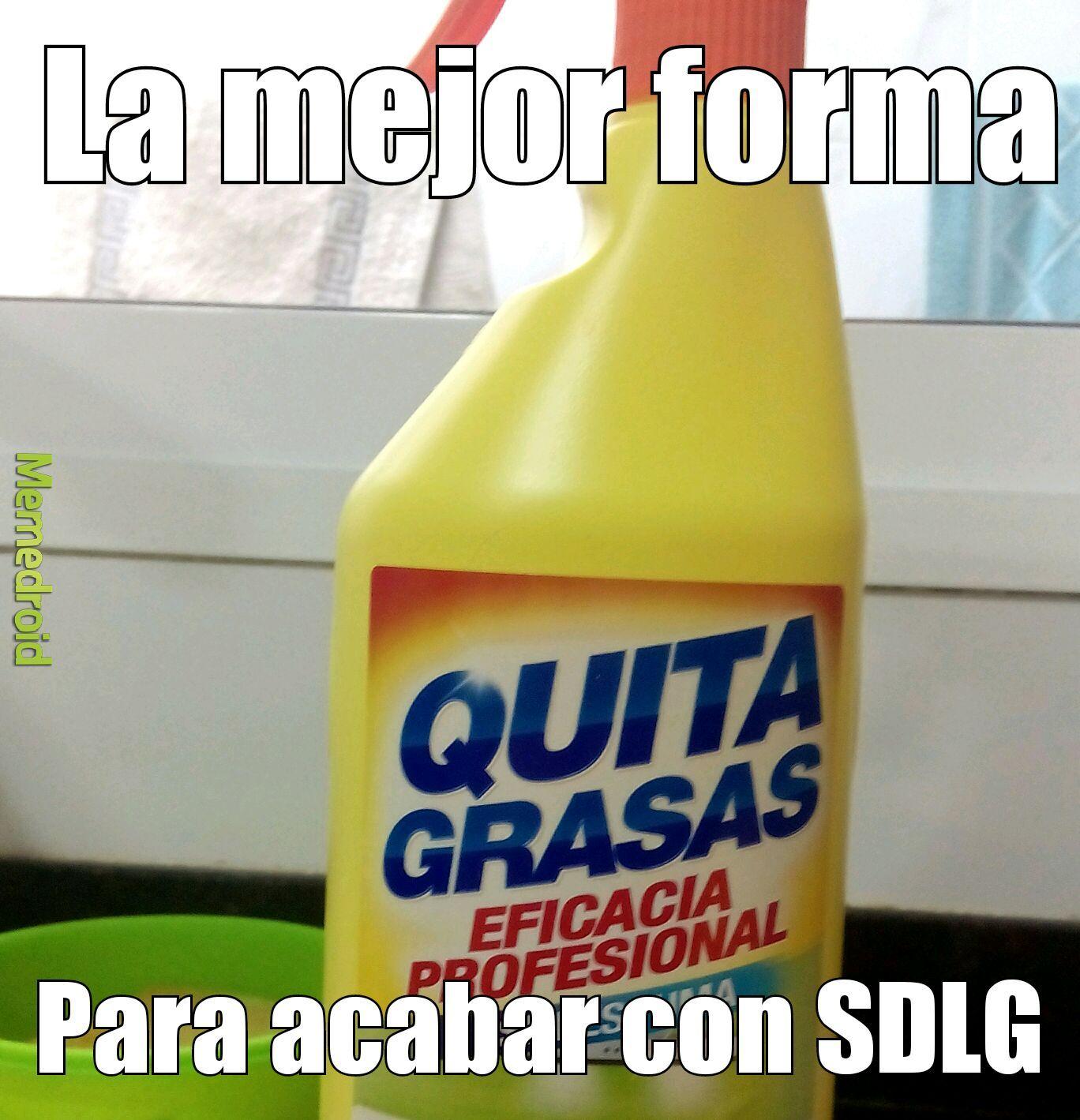 Quitagrasas - meme
