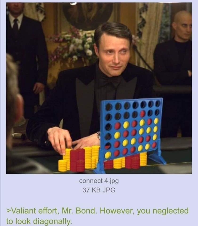 Nice try Mr. Bond - meme