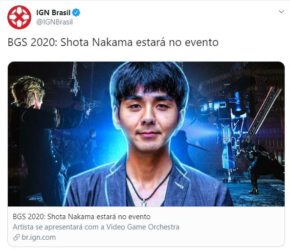 Tekomu Nakama também está confirmado. - meme