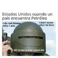 Usa y el petróleo