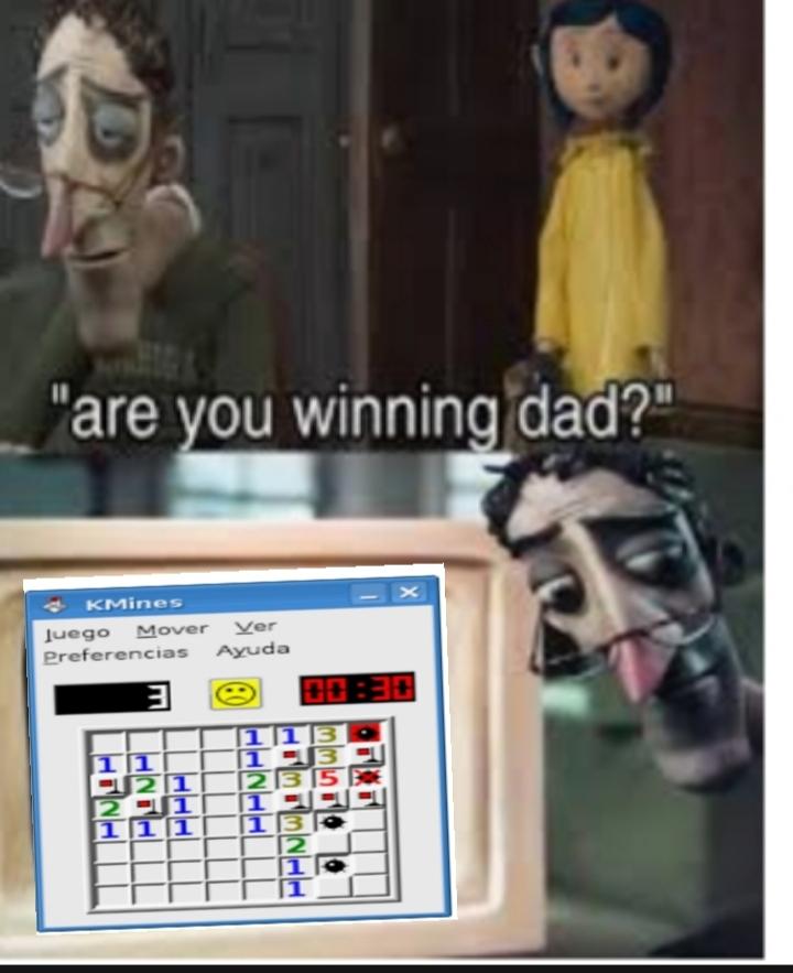Buenardo el buscaminas - meme