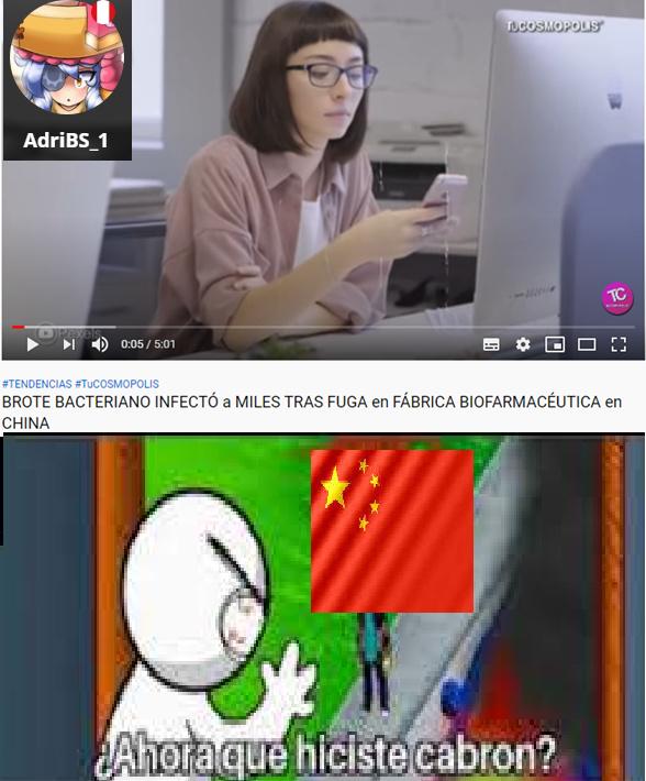OTRO VIRUS - meme