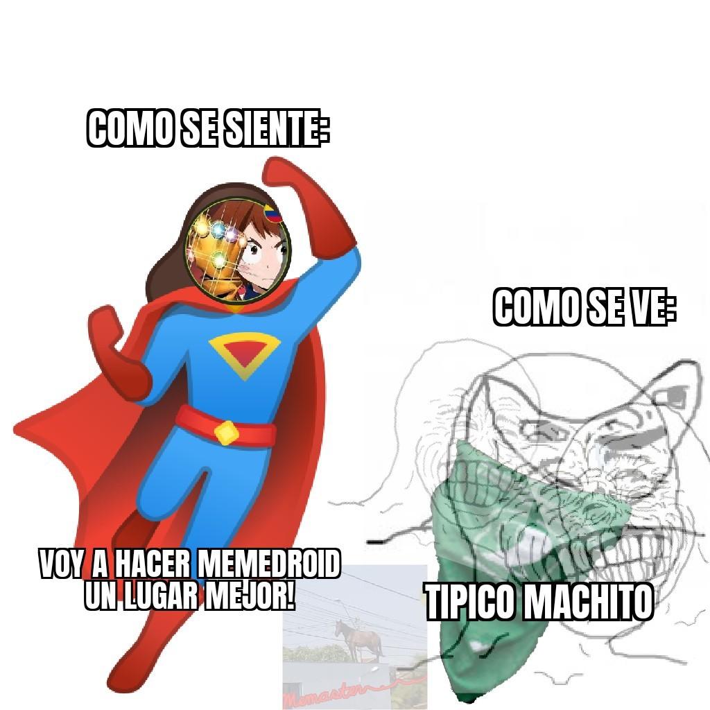Tipico machito - meme